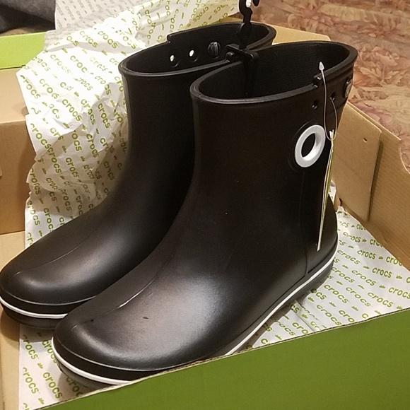 089eda05f0b CROCS Shoes | Iconic Jaunt Shorty Boot Black 10 | Poshmark